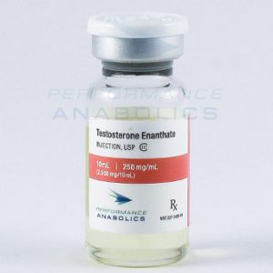 Testosterone Enanthate - Performance Anabolics